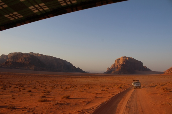 Miles and miles of desert - Wadi Rum