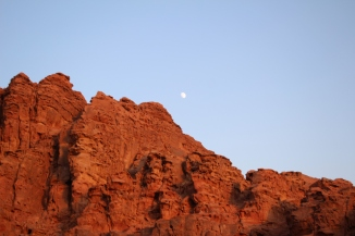 Full moon - Wadi Rum.